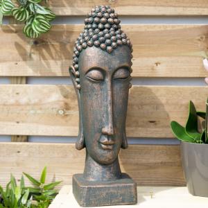 Statuetă Buddha, H49 x L15 x D15 cm0