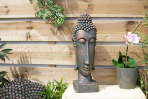 Statuetă Buddha, H49 x L15 x D15 cm2
