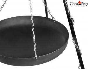 Trepied cu wok, H180 cm x D70 cm1