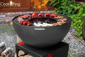 Vatră de foc, plită și grill Santos2