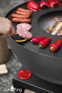 Vatră de foc, plită și grill Santos6