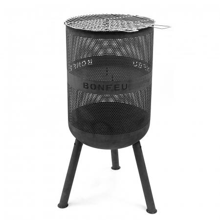 Vatră de foc cu grătar BonVes [5]