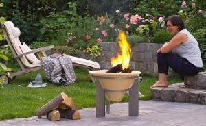 Vatră de foc ceramică Fire Memory, D55 cm1