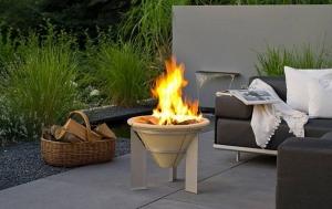 Vatră de foc ceramică Fire Memory, D55 cm2