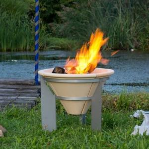 Vatră de foc ceramică Fire Memory, D55 cm0