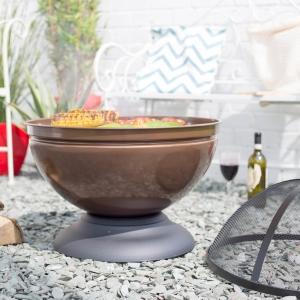 Fire Pit Globe, D56 cm0
