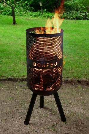 Set Vatră de foc cu grătar și plită BonVes [5]