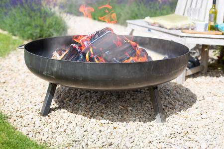 Vatră de foc Pittsburgh cu manere, D110 cm [1]