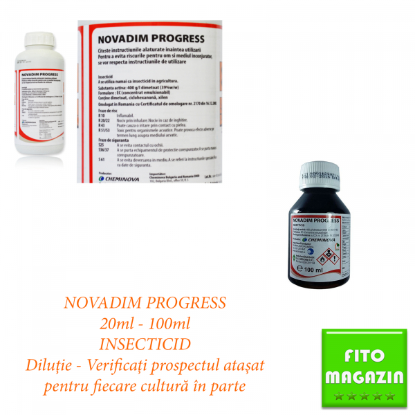 NOVADIM PROGRESS 20ML - 100ML