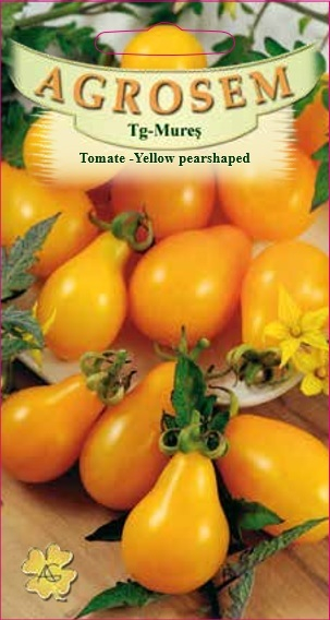 Tomate - Yellow Pearshaped 0