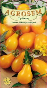Tomate - Yellow Pearshaped0