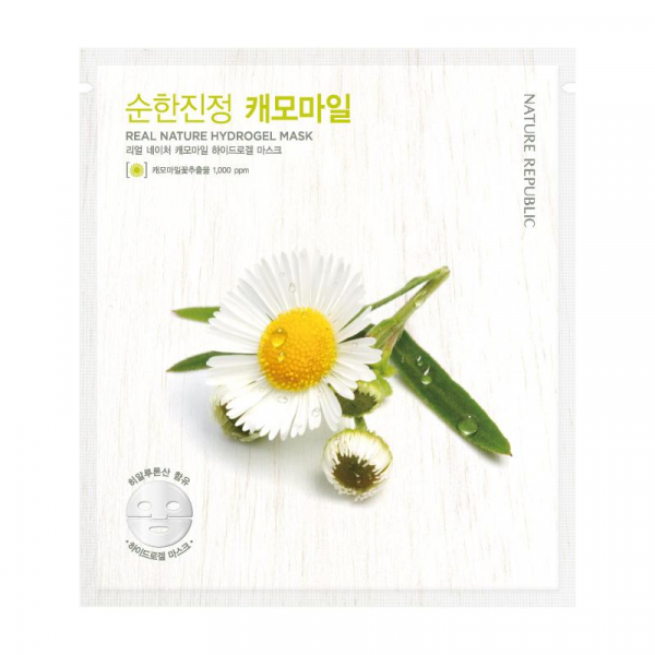 Real Nature Hydrogel Mask Chamomile 0