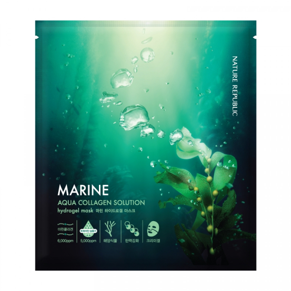 Aqua Collagen Solution Marine Hydrogel Mask 0