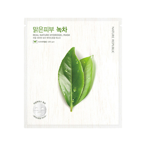 Real Nature Hydrogel Mask Green Tea 0