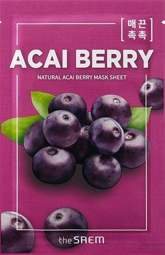 Natural Acai Berry Mask Sheet 0