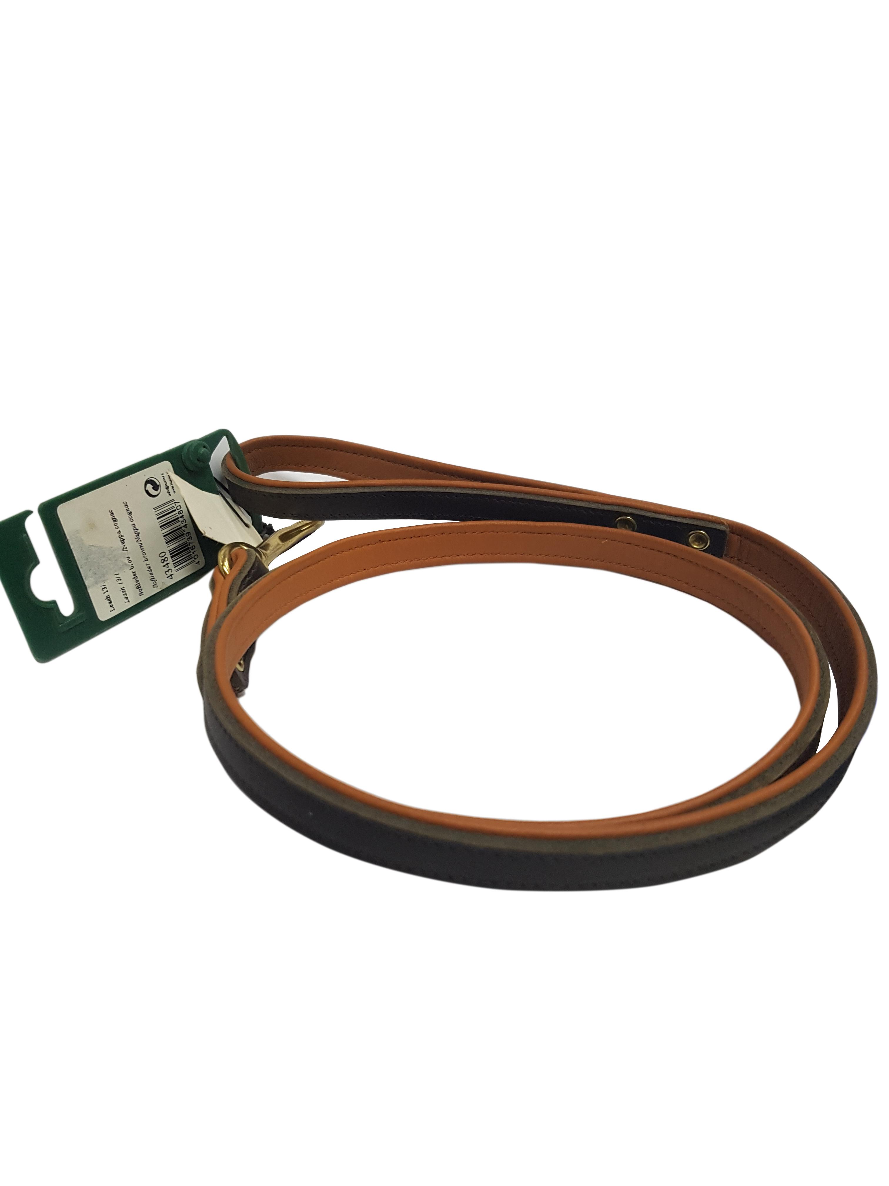 Lesa de piele Alama, Hunter, Maro/Cognac, 13/110 cm 0