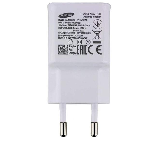 Incarcator priza Samsung, EP-TA20EWE, Fast charging, Alb 1