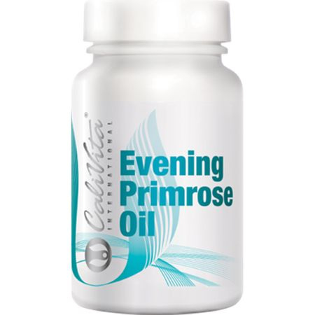 Suplimente nutritive pentru frumusetea si fermitatea pielii, Evening Primrose Oil, 100 capsule gelatinoase, CaliVita [0]