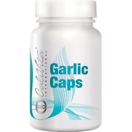Supliment cu usturoi antibacterian si antifungic, Garlic Max, 100 capsule gel, CaliVita [0]