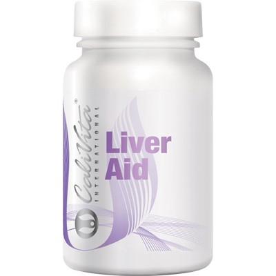 Supliment pentru protectia ficatului, Liver Aid, 100  capsule, CaliVita 0
