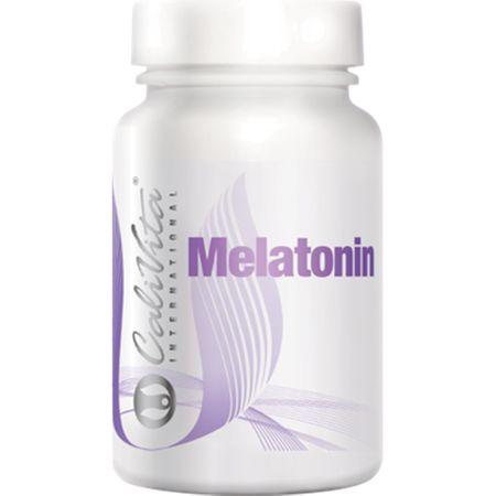 Suplimente pentru un somn linistit,  Melatonin,180 capsule, CaliVita 0