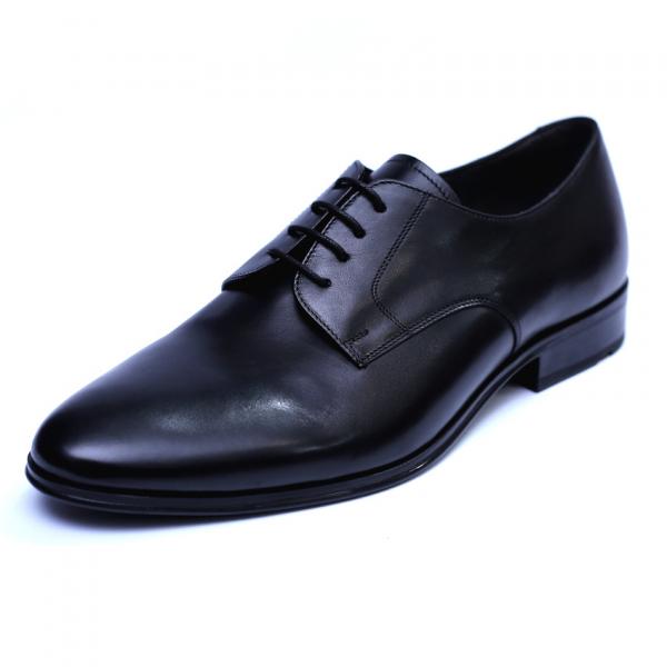 Pantofi barbati din piele naturala, 20s, ANNA CORI, Negru, 40 EU [0]