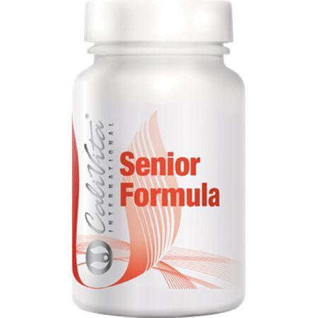 Complex de multivitamine pentru seniori cu rol in imbunatatirea imunitatii, Senior Formula, 90 tablete, CaliVita 0