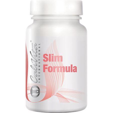 Suplimente pentru stimularea metabolismului si reducerea oboselii, Slim Formula, 90 tablete, CaliVita [0]