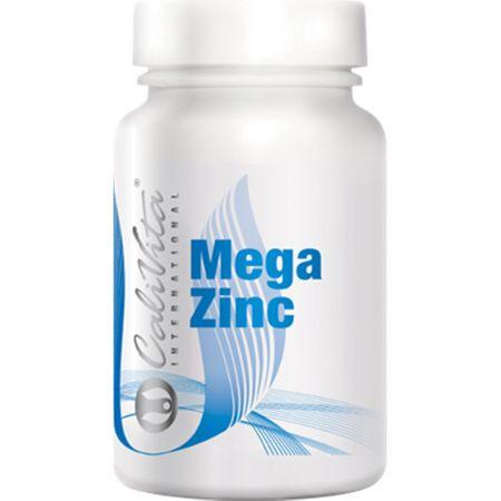 Supliment cu o concentratie mare de zinc pentru procesele metabolice, Mega Zinc, 100 tablete, CaliVita [0]