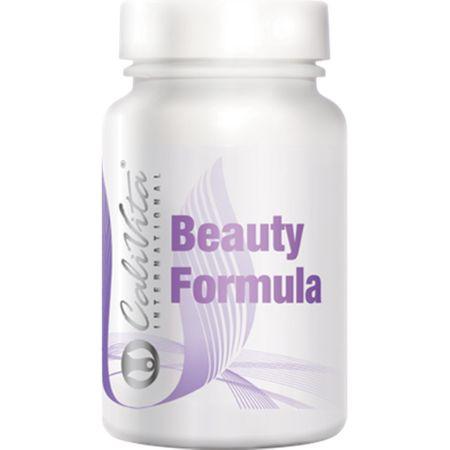 Complex de vitamine impotriva caderii parului, Beauty Formula, 60 tablete, CaliVita 0