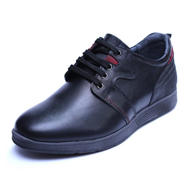 Pantofi barbati din piele naturala, Martin, Gitanos, Negru, 39 EU 0
