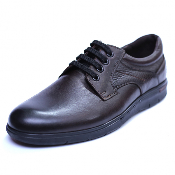 Pantofi barbati din piele naturala, Paul, Maro, 39 EU 0