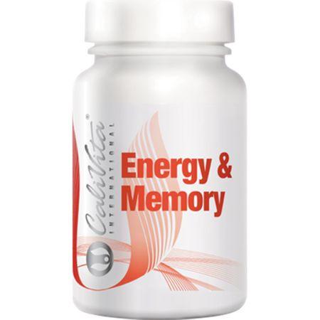 Suplimente nutritive pentru stimularea activitatii fizice si mentale, Energy  & Memory, 90 tablete, CaliVita [0]