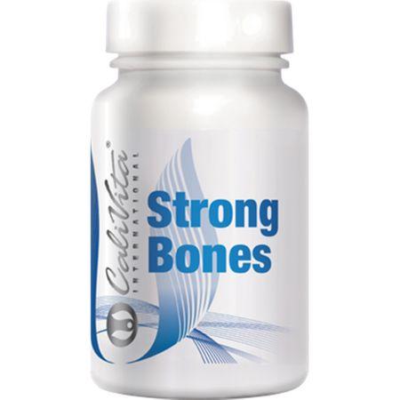 Calciu si magneziu pentru sistemul osos, Strong Bones, 250 capsule, CaliVita 0