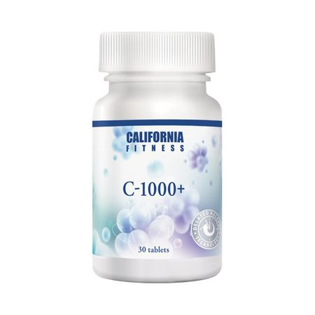 Complex nutritiv cu vitamina C si macese, C-1000+, 30 tablete, CaliVita [0]