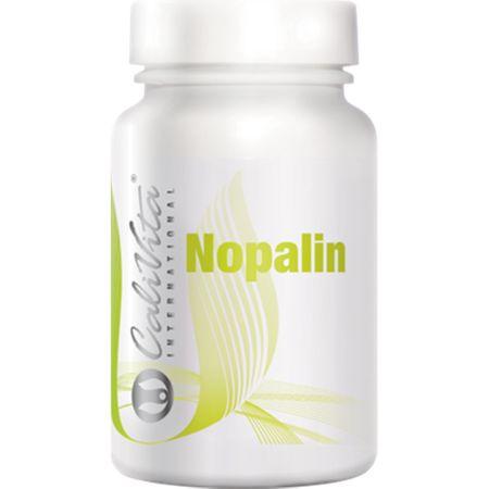 Complex de vitamine si minerale cu frunza de cactus pentru detoxifiere, Nopalin, 200 tablete, CaliVita 0