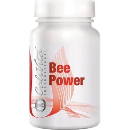 Complex de multivitamine cu laptisor de matca, antimicrobian, Bee Power, 50 capsule, CaliVita 0