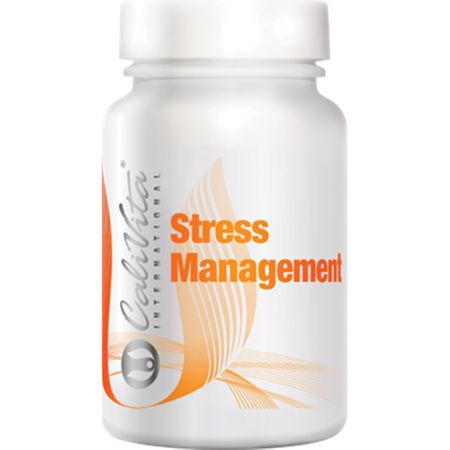 Complex de vitamine antistres si cu rol in sprijinirea sistemului imunitar, Stress Management, 100 tablete, CaliVita [0]