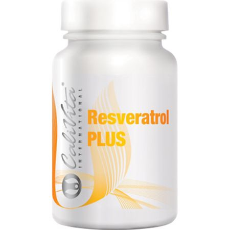 Complex coenzima Q10 antiimbatranire si cu rol in sprijinul sistemului cardiovascular, Resveratrol PLUS, 60 capsule, CaliVita [0]