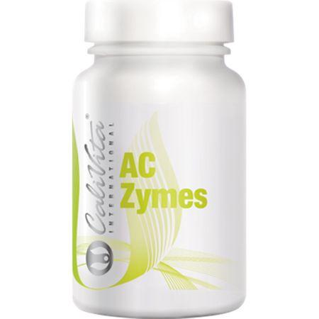 Supliment natural pentru imunitate si protectia stomacului, AC-Zymes 100,  capsule, CaliVita 0
