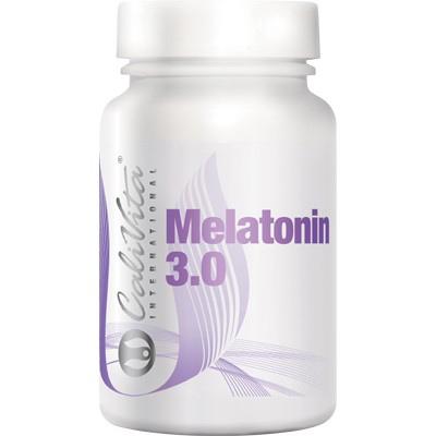 Suplimente pentru un somn linistit, Melatonin 3.0, 60 tablete, CaliVita [0]