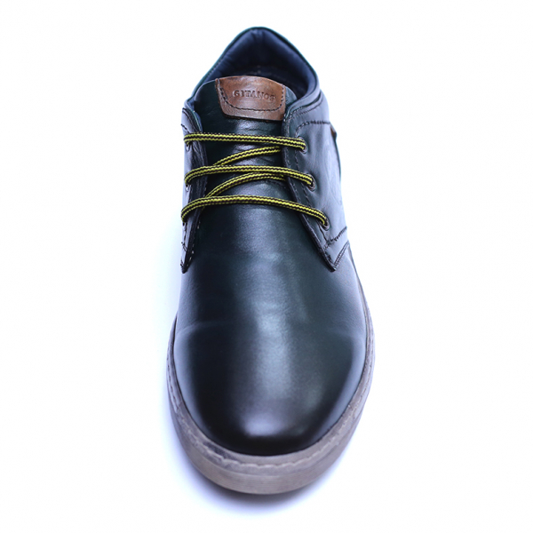 Pantofi barbati din piele naturala, Jim, Gitanos, Verde, 39 EU 1