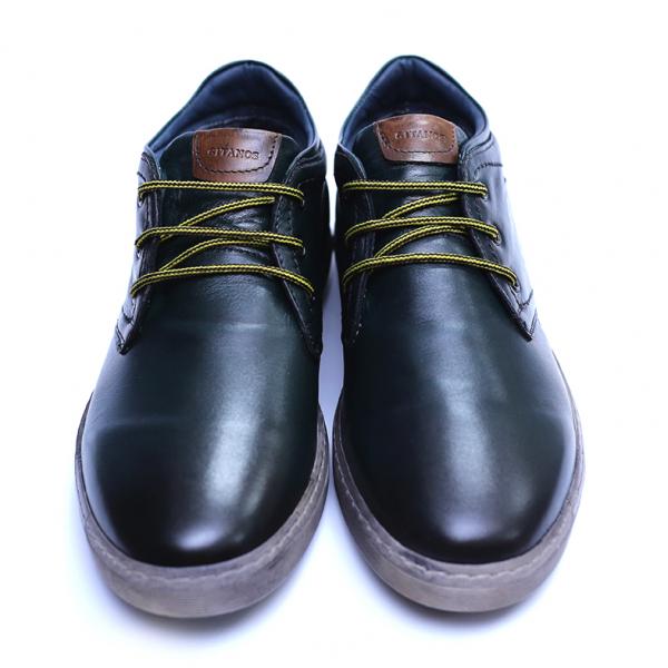 Pantofi barbati din piele naturala, Jim, Gitanos, Verde, 39 EU 2