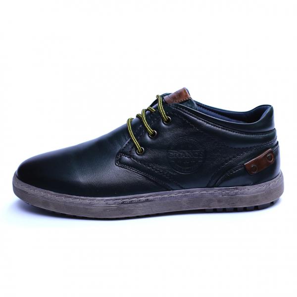Pantofi barbati din piele naturala, Jim, Gitanos, Verde, 39 EU 3