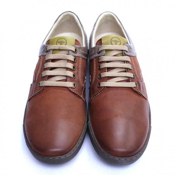Pantofi barbati din piele naturala, Brad, Gitanos, Maro, 39 EU 1
