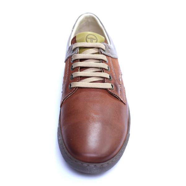 Pantofi barbati din piele naturala, Brad, Gitanos, Maro, 39 EU 2