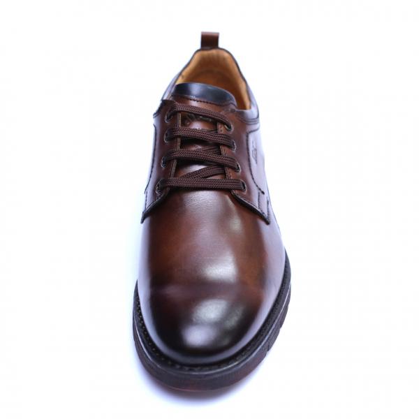 Pantofi barbati din piele naturala, Sir, Gitanos, Maro, 39 EU 1
