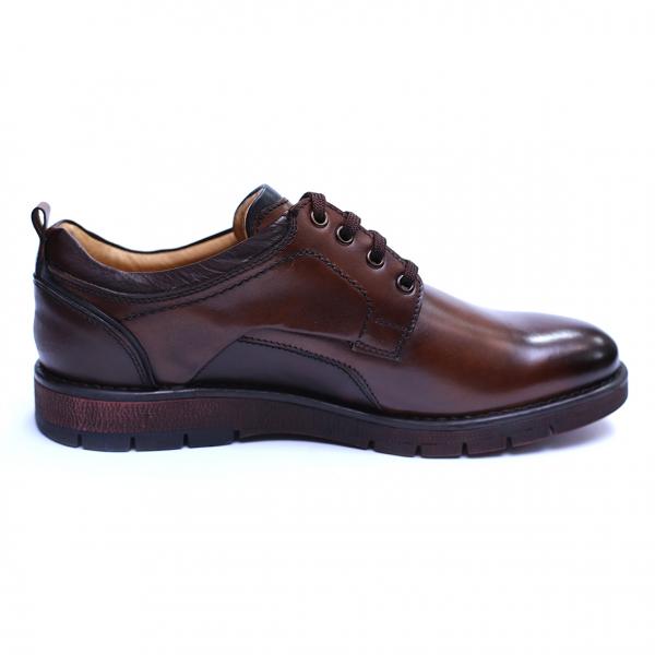 Pantofi barbati din piele naturala, Sir, Gitanos, Maro, 39 EU 3