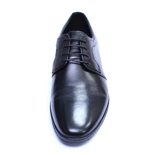 Pantofi barbati din piele naturala, Tom, SACCIO, Negru, 39 EU 1