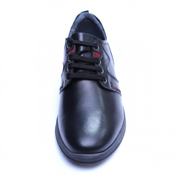 Pantofi barbati din piele naturala, Martin, Gitanos, Negru, 39 EU 1